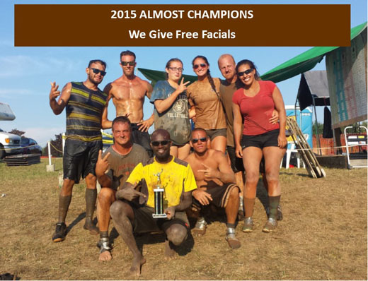 2015 Almost Champions - We Give Free Facials