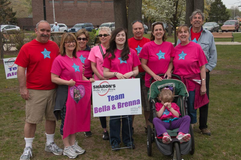 Sharon's Ride Run Walk Team.