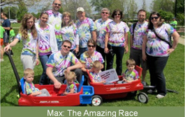 Sharon's Ride Run Walk Team, Team Max.